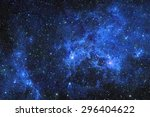 Galaxy Stars. Abstract Space...