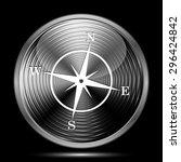 compass icon. internet button...   Shutterstock . vector #296424842