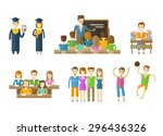 learning  tuition  schooling... | Shutterstock .eps vector #296436326