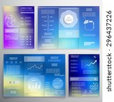 brochures and templates for... | Shutterstock .eps vector #296437226