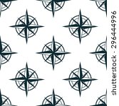 seamless pattern with repeated... | Shutterstock .eps vector #296444996