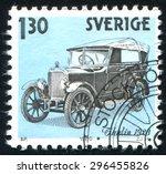 Sweden   Circa 1980  Stamp...