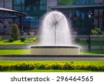 A Beautifull Fountain With...