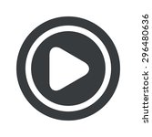 image of play button in circle  ...