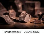 chocolate  chocolate candy ... | Shutterstock . vector #296485832