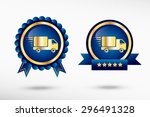 fast delivery service icon... | Shutterstock .eps vector #296491328