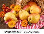 Pears Fruit Rustic Still Life