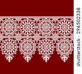 Ribbon Lace Seamless Pattern