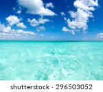 Tropical Sea Under The Blue Sky
