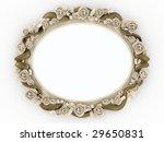 decorative wooden mirror... | Shutterstock . vector #29650831