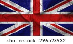 flag of united kingdom....   Shutterstock . vector #296523932