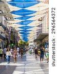 madrid  spain   july 12  2015   ... | Shutterstock . vector #296564372