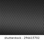 metallic mesh metal texture... | Shutterstock . vector #296615702