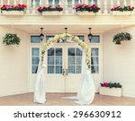 Wedding Archway With Flowers...