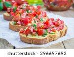 Bruschetta With Tomatoes  Herb...