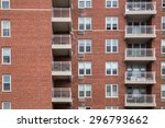 typical apartment building... | Shutterstock . vector #296793662