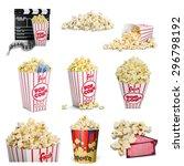 Popcorn  Movie Ticket  Ticket.