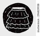 skirt doodle   Shutterstock . vector #296829938