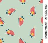 chicken food flat icon eps10... | Shutterstock .eps vector #296839502