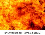 fire flame background | Shutterstock . vector #296851832