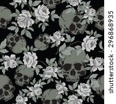seamless vector patterns with... | Shutterstock .eps vector #296868935