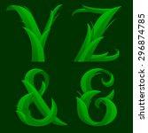 Vector Illustration Of Alphabe...