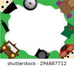 travel wallpaper | Shutterstock .eps vector #296887712