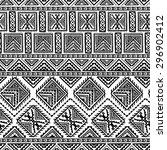 decorative boho ancient hand... | Shutterstock .eps vector #296902412