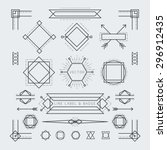 Linear Geometric Labels And...