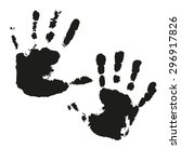 set of black and white vector...