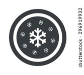 image of several snowflakes in... | Shutterstock .eps vector #296919932