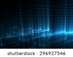 abstract business science or... | Shutterstock . vector #296927546