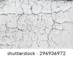 the old cracked paint on a wall ... | Shutterstock . vector #296936972