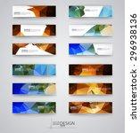business design templates. set... | Shutterstock .eps vector #296938136