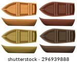 Set Of Different Color Wooden...