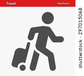 travel  tourist icon. eps 8... | Shutterstock .eps vector #297015068