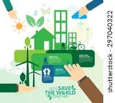 environment   Shutterstock .eps vector #297040322