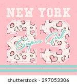 vintage vector design. for t... | Shutterstock .eps vector #297053306