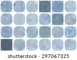 bright abstract mosaic grey... | Shutterstock . vector #297067325