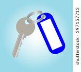 key | Shutterstock .eps vector #297157712