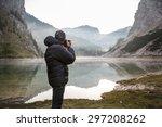 photographer on assignment ... | Shutterstock . vector #297208262