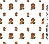 camping   doodles collection.... | Shutterstock .eps vector #297240032