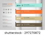 timeline   milestone for... | Shutterstock .eps vector #297270872
