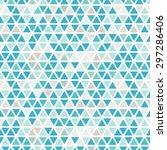 seamless triangle pattern....   Shutterstock .eps vector #297286406