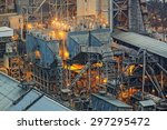 cement plant building close up | Shutterstock . vector #297295472