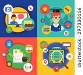 Online Education Vector Icons....