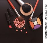 Various Makeup Products On...