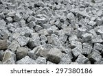 granite bricks in the quarry | Shutterstock . vector #297380186