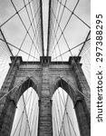 Brooklyn Bridge New York City...