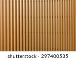 Texture Of Wood Lath Wall...